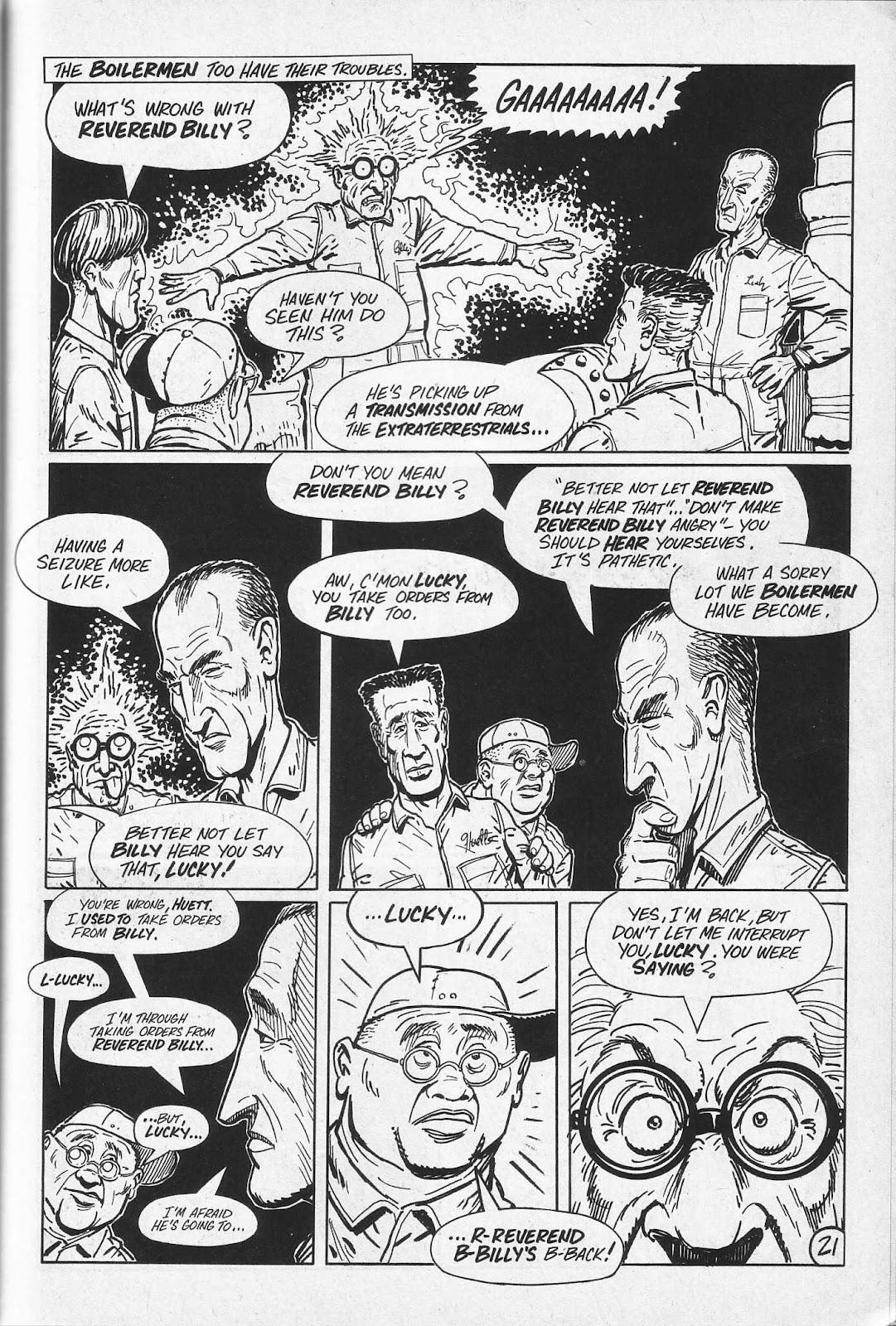 Read online Paul the Samurai (1991) comic -  Issue # TPB - 57