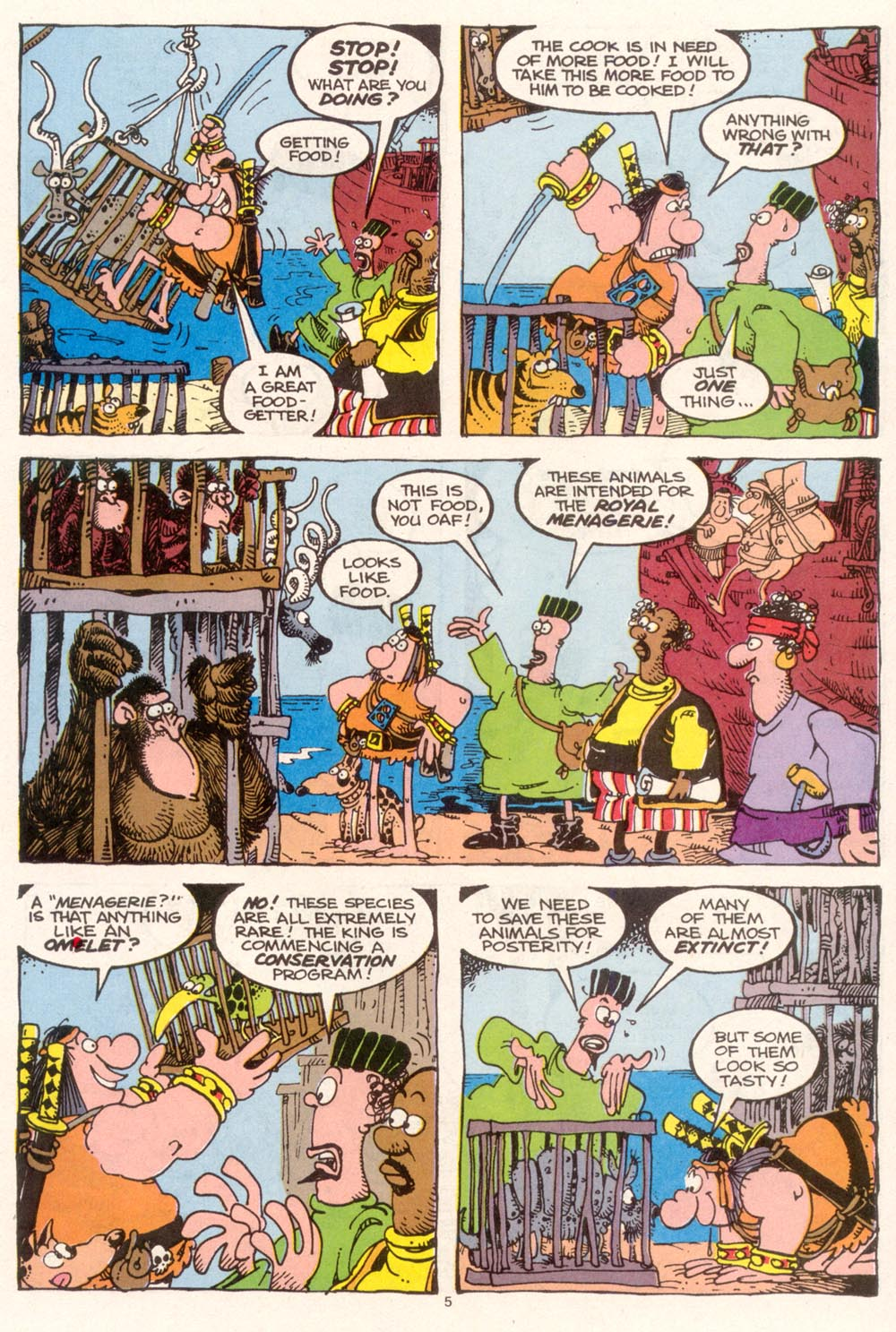 Read online Sergio Aragonés Groo the Wanderer comic -  Issue #95 - 6