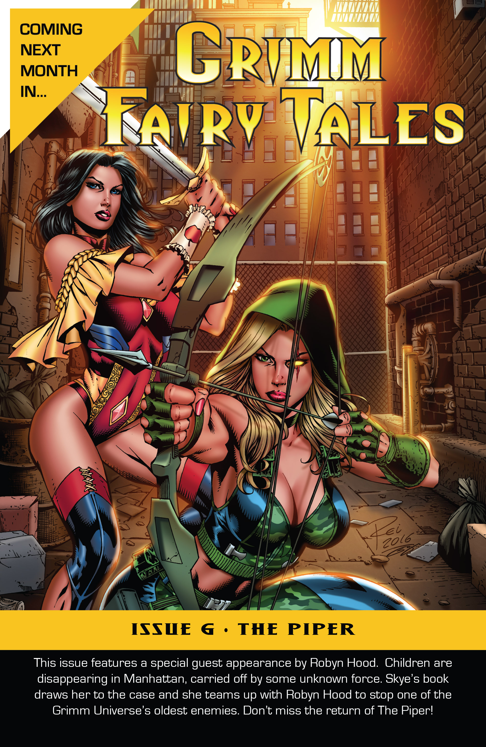 Read online Grimm Fairy Tales (2016) comic -  Issue #5 - 25