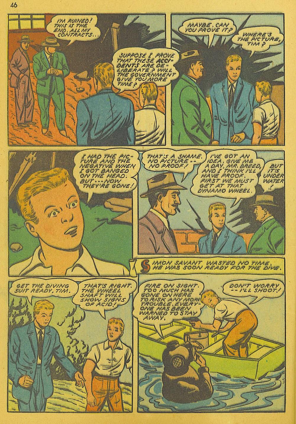 Read online Super-Magician Comics comic -  Issue #10 - 46