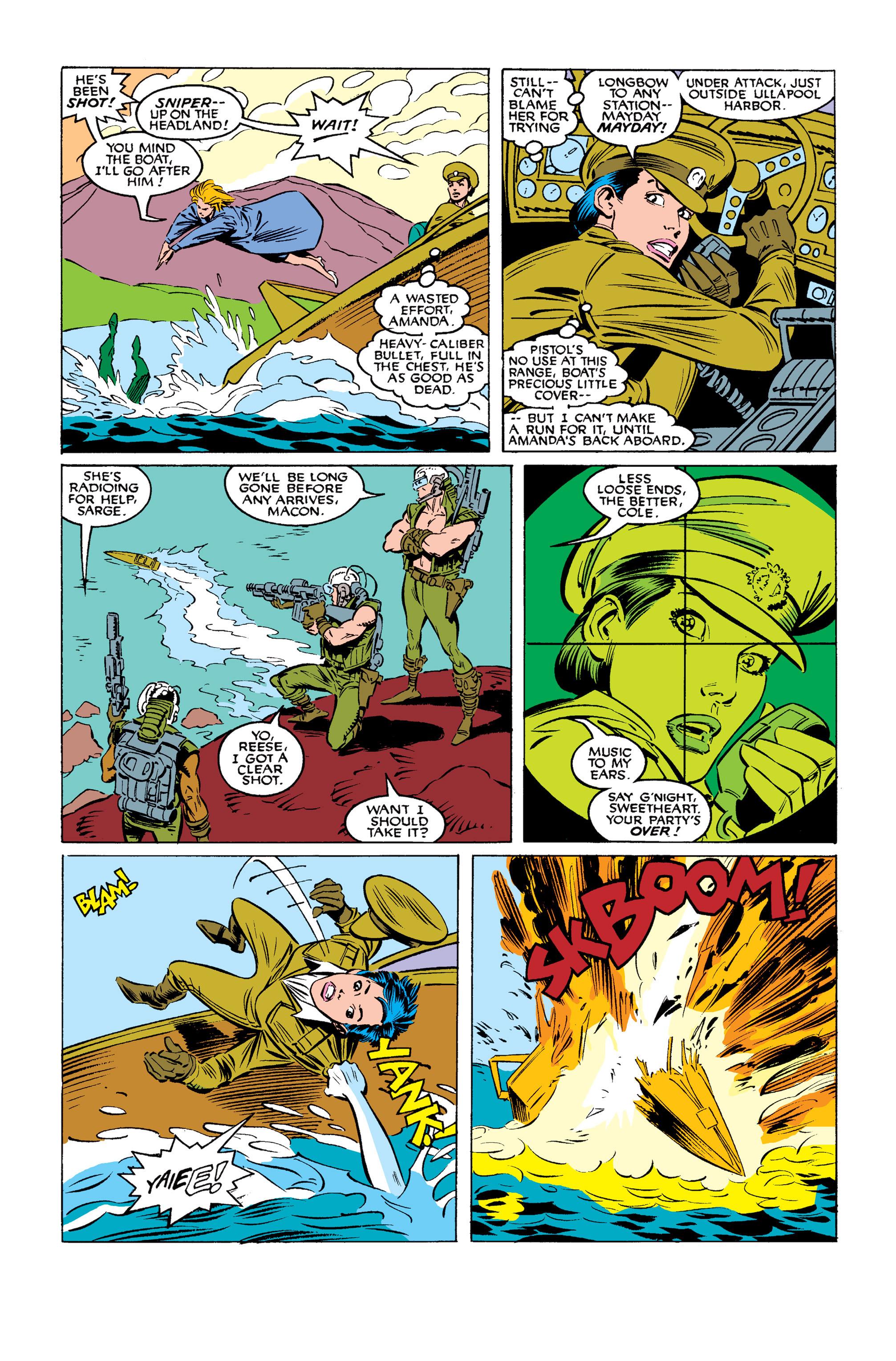 Read online Uncanny X-Men (1963) comic -  Issue #254 - 5