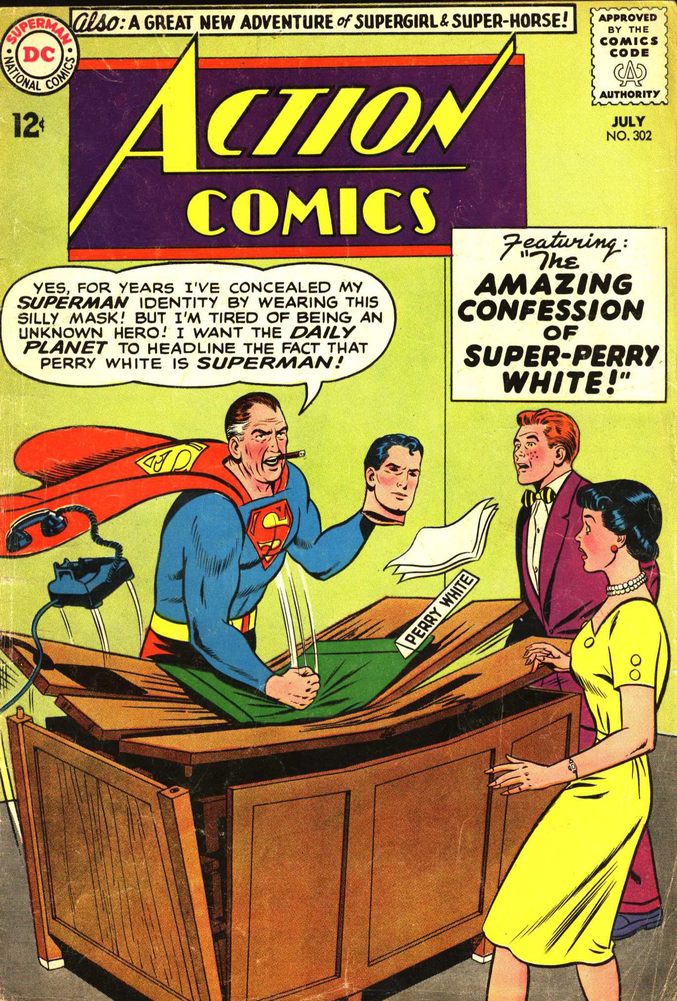 Read online Action Comics (1938) comic -  Issue #302 - 1