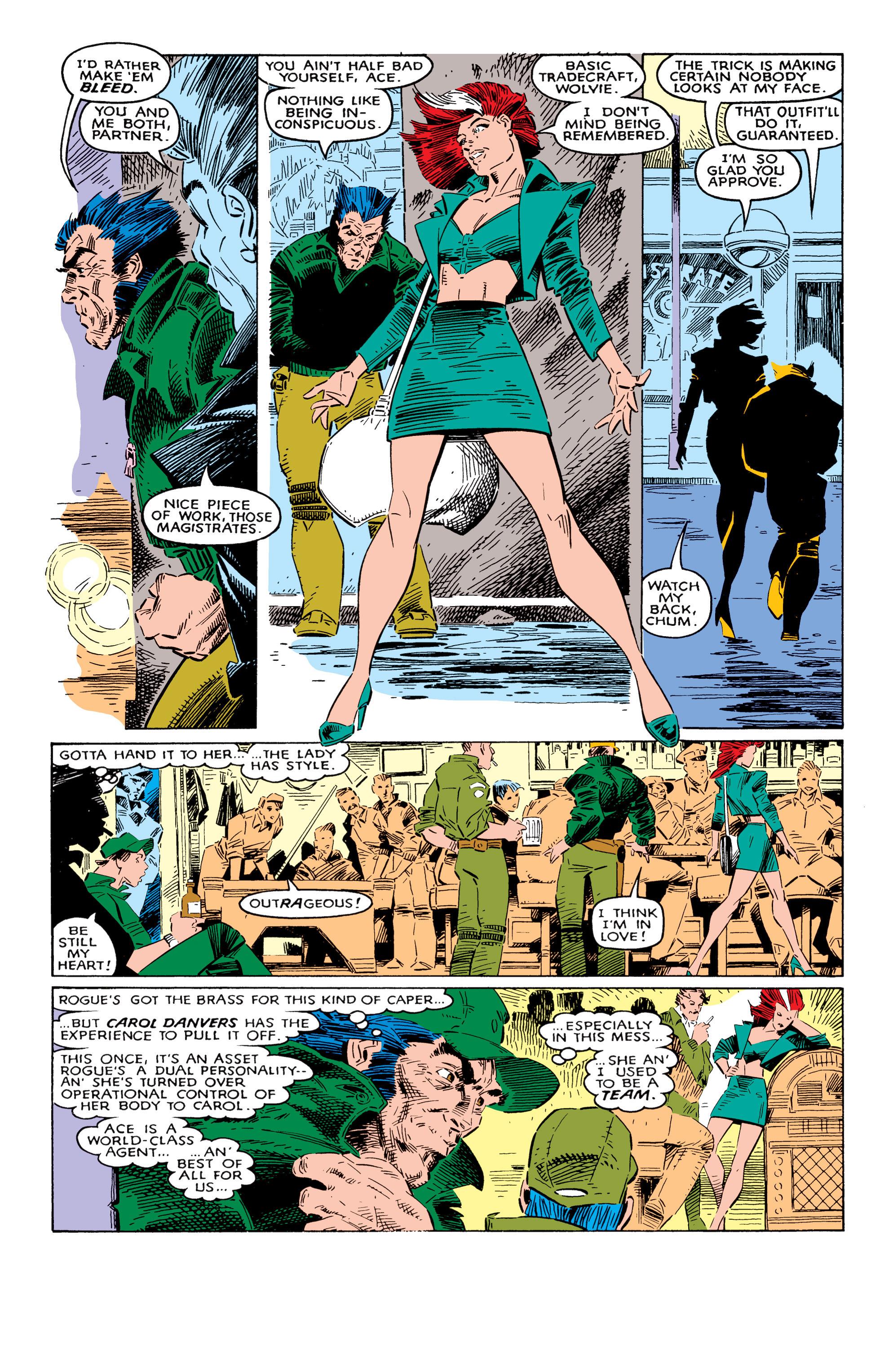 Read online Uncanny X-Men (1963) comic -  Issue #237 - 8