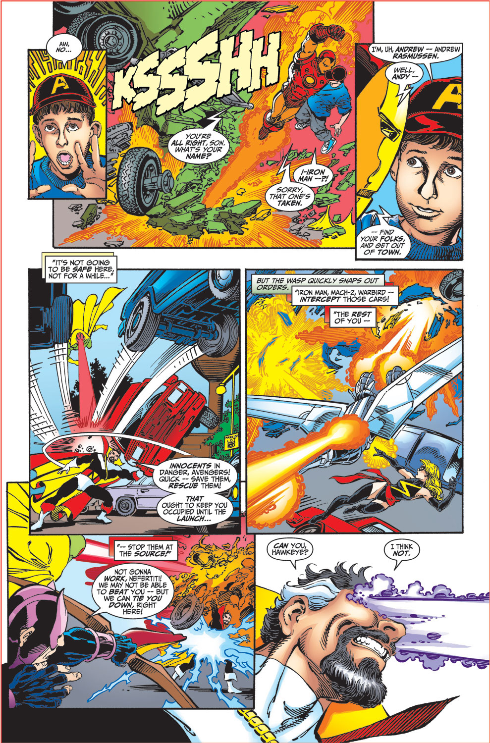 Read online Avengers (1998) comic -  Issue #34 - 7