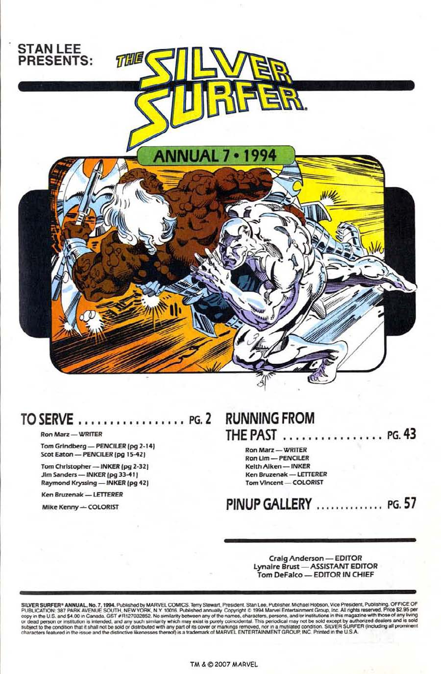 Read online Silver Surfer (1987) comic -  Issue # _Annual 7 - 3