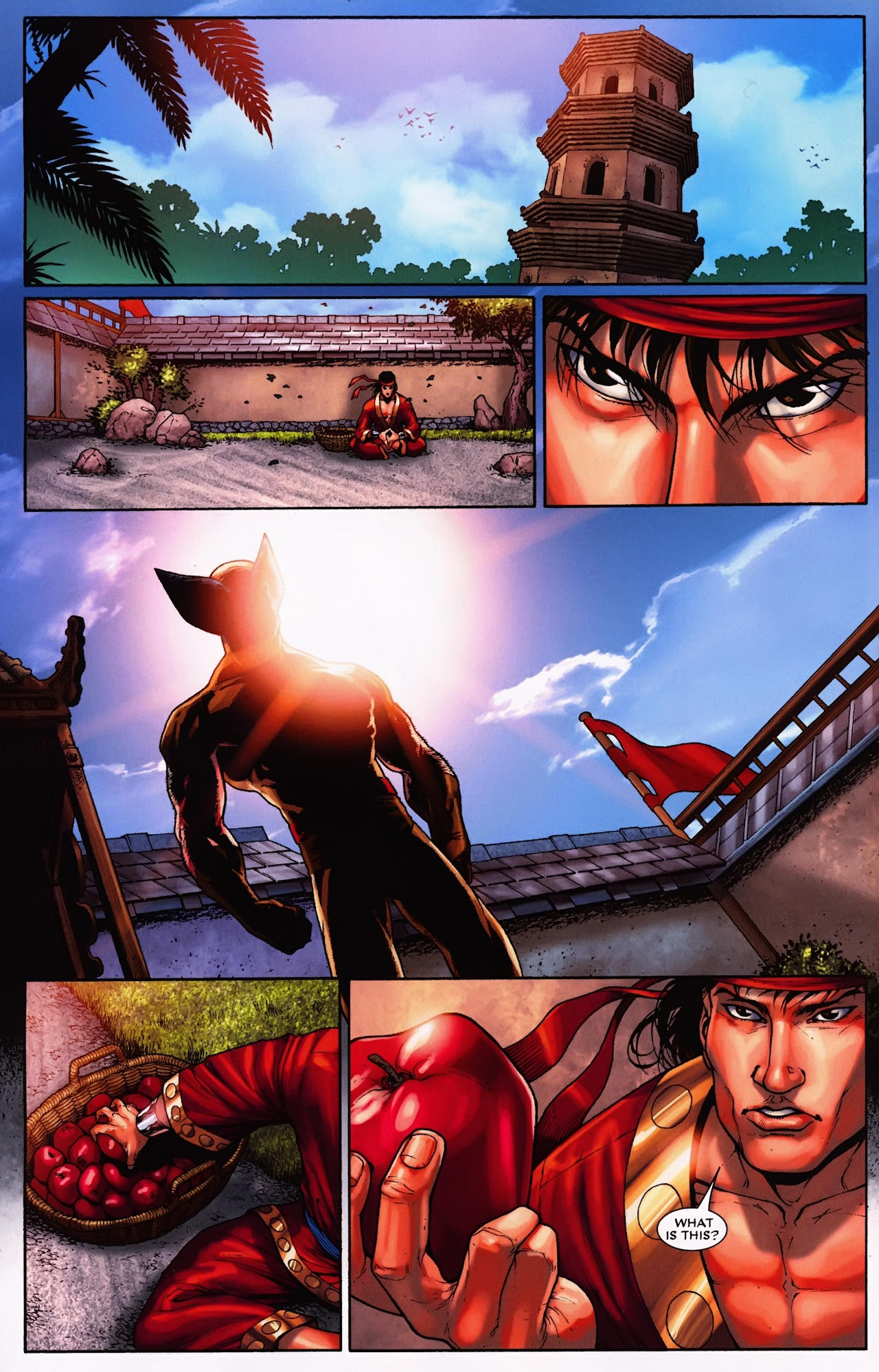 Read online Wolverine: First Class comic -  Issue #9 - 21