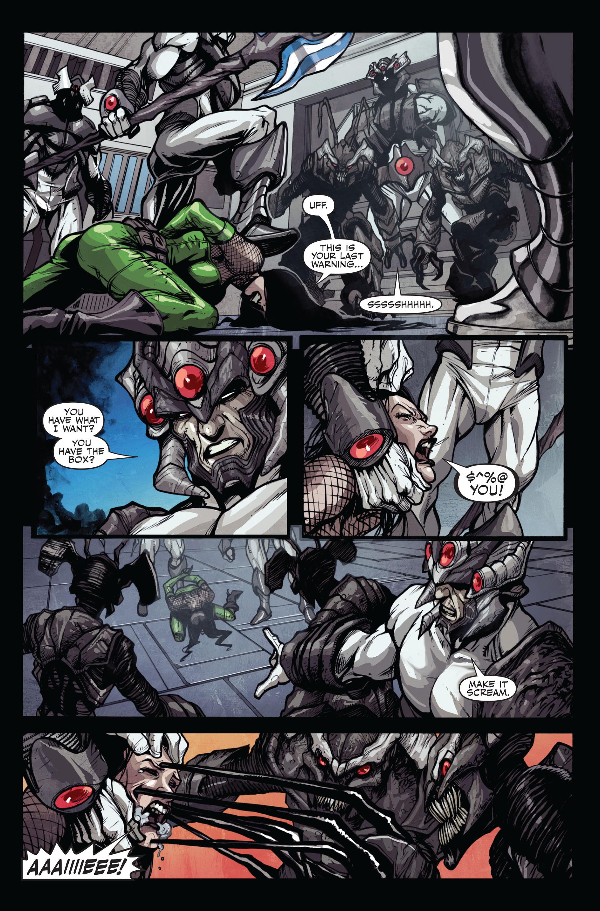 Read online Secret Warriors comic -  Issue #12 - 23