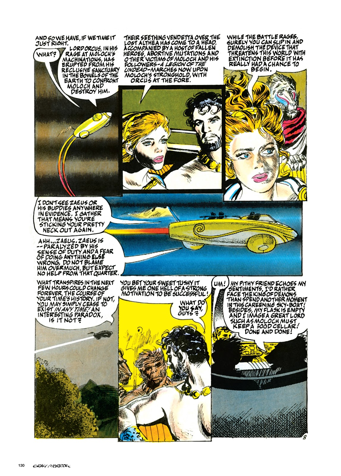 Read online Orion and Edge of Chaos comic -  Issue # TPB - 131