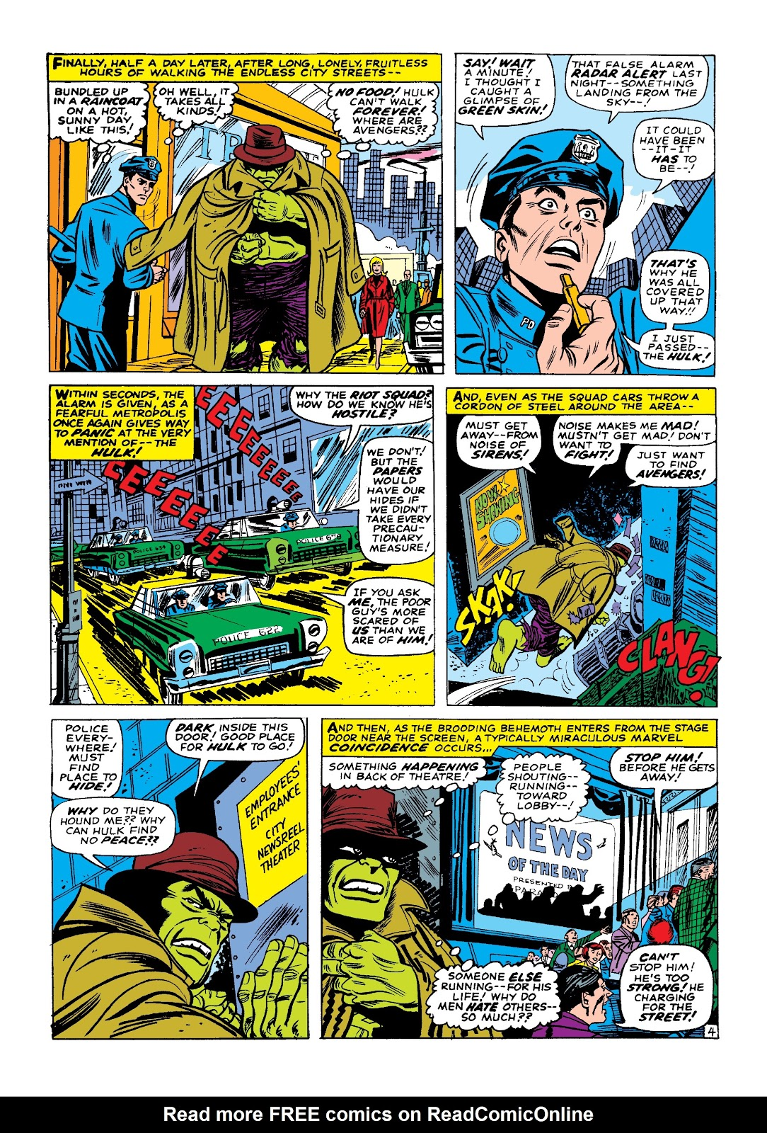 Read online Marvel Masterworks: The Incredible Hulk comic -  Issue # TPB 3 (Part 1) - 55