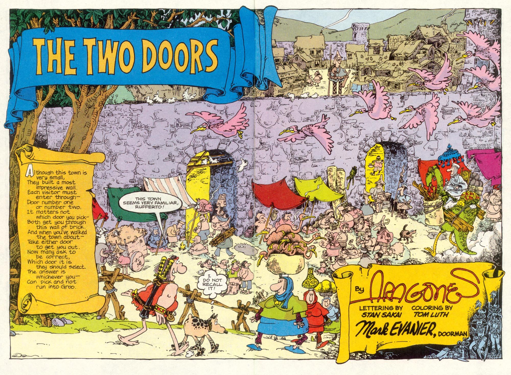 Read online Sergio Aragonés Groo the Wanderer comic -  Issue #86 - 3