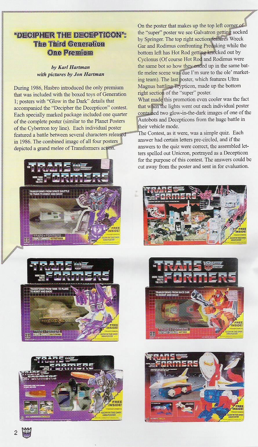 Read online Transformers: Collectors' Club comic -  Issue #5 - 2