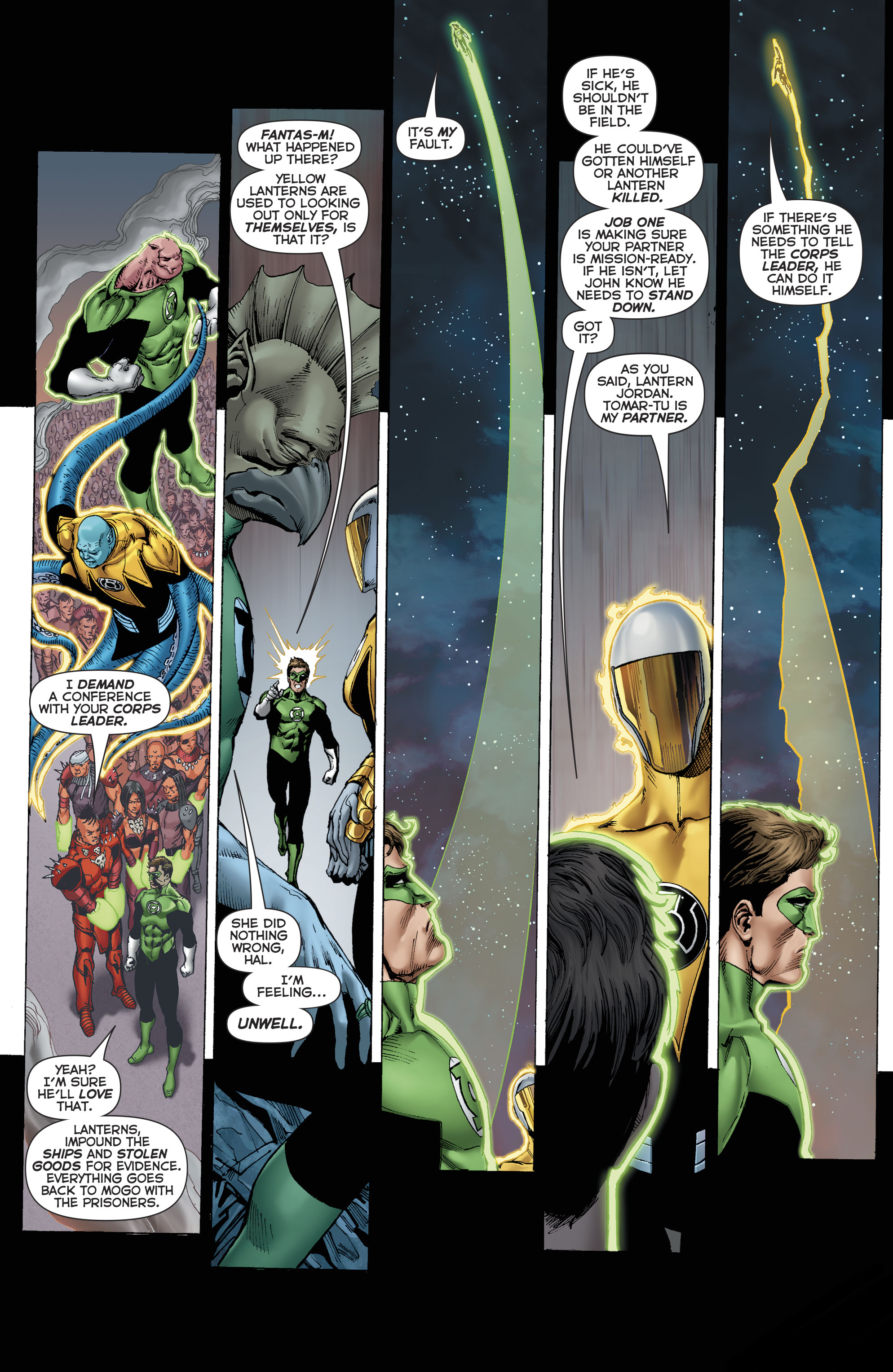 Read online Hal Jordan And The Green Lantern Corps comic -  Issue #22 - 16