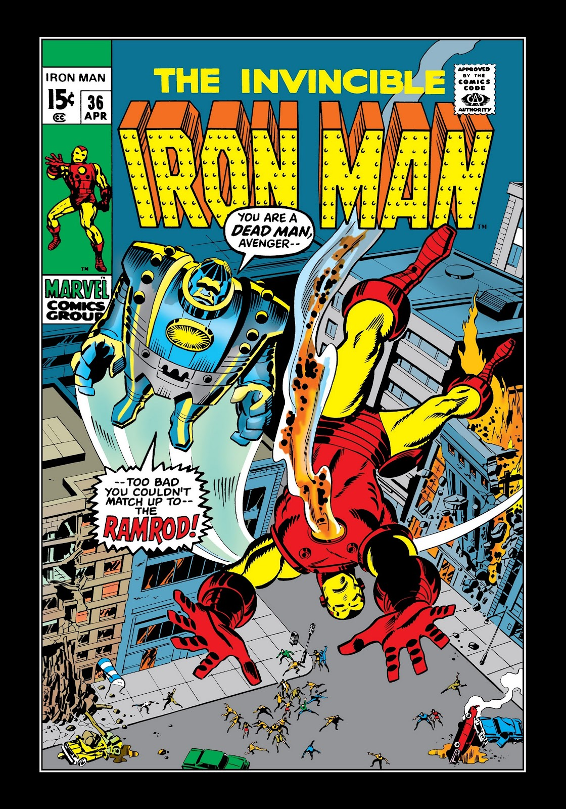 Read online Marvel Masterworks: The Invincible Iron Man comic -  Issue # TPB 7 (Part 3) - 29