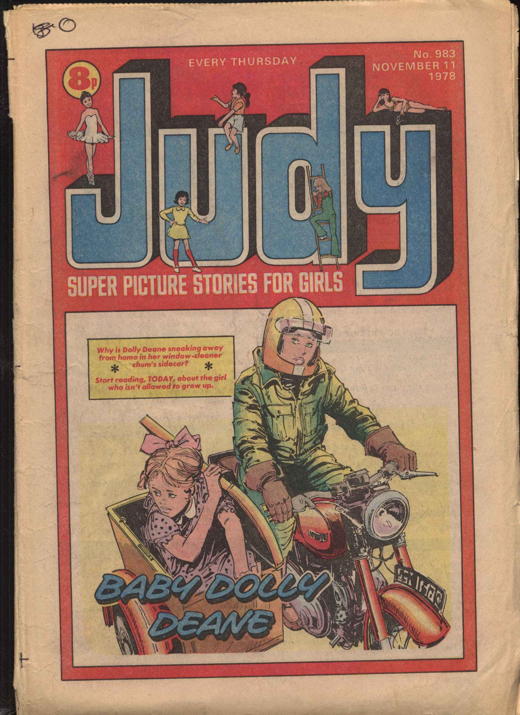Read online Judy comic -  Issue #983 - 1