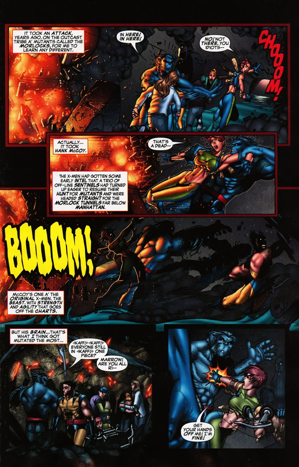 Read online Wolverine (2003) comic -  Issue #900 - 36