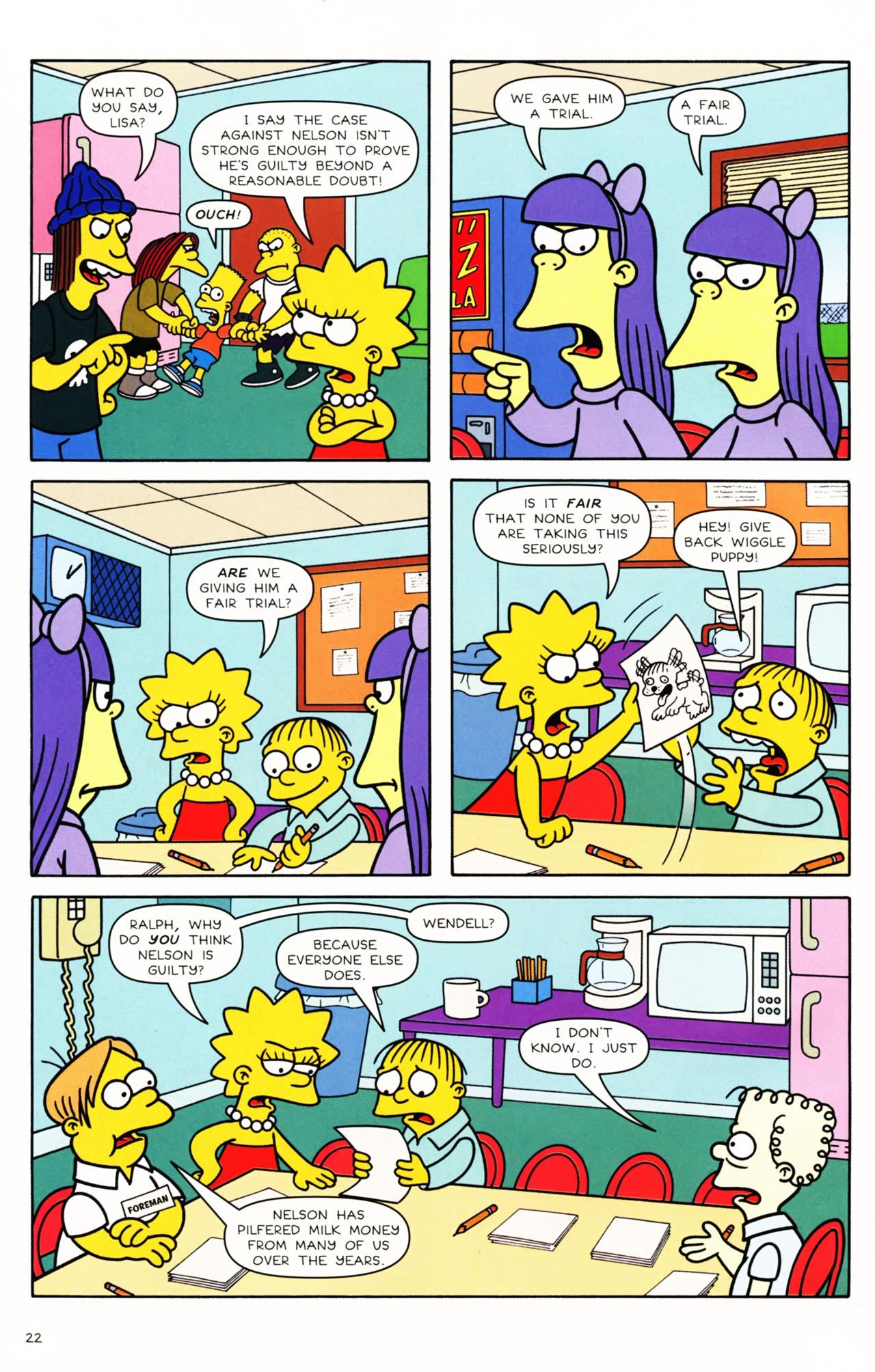 Read online Simpsons Comics Presents Bart Simpson comic -  Issue #49 - 20