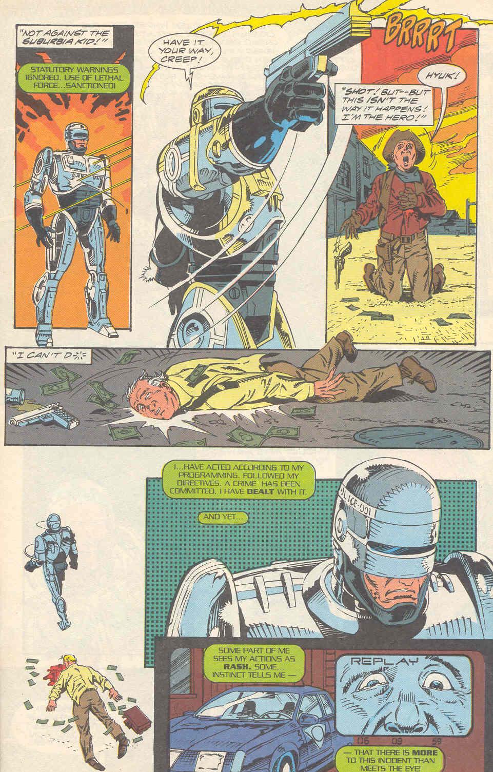Read online Robocop (1990) comic -  Issue #16 - 4