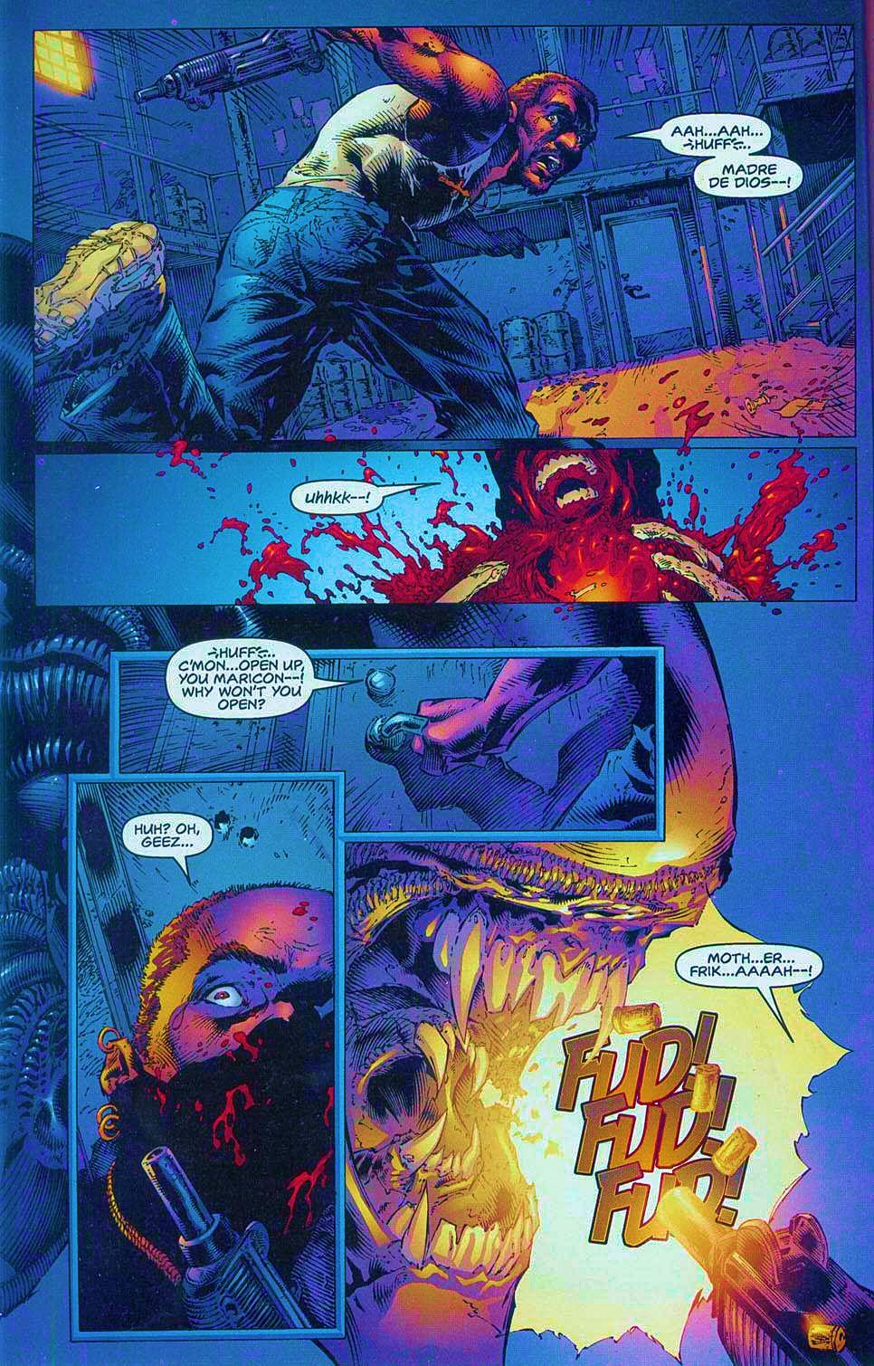 Read online Overkill: Witchblade/Aliens/Darkness/Predator comic -  Issue #1 - 10