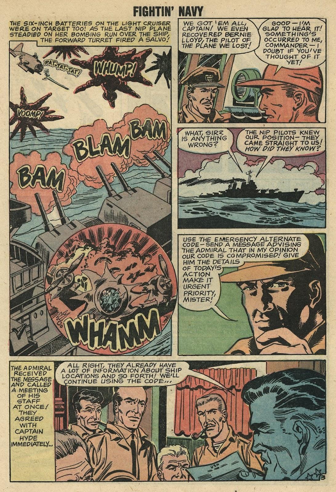 Read online Fightin' Navy comic -  Issue #86 - 23