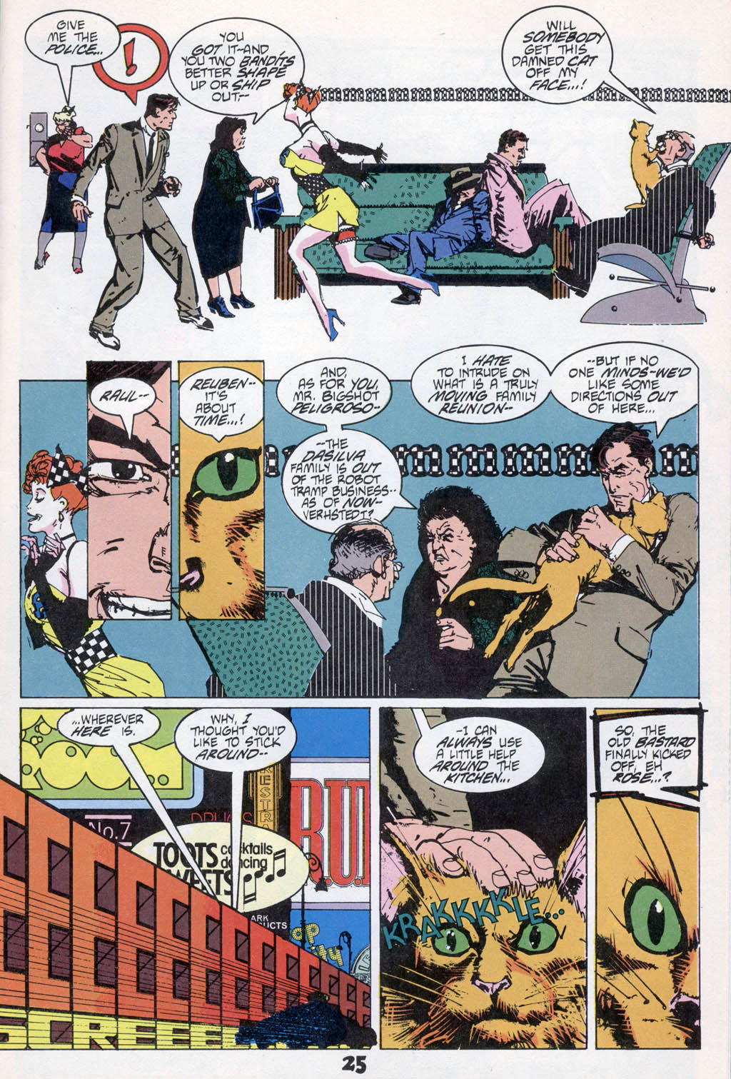 Read online American Flagg! comic -  Issue # _Special 1 - 27