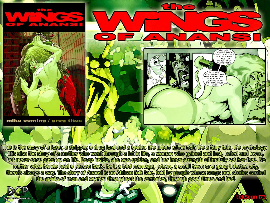 Read online The Wings Of Anansi comic -  Issue # Full - 57