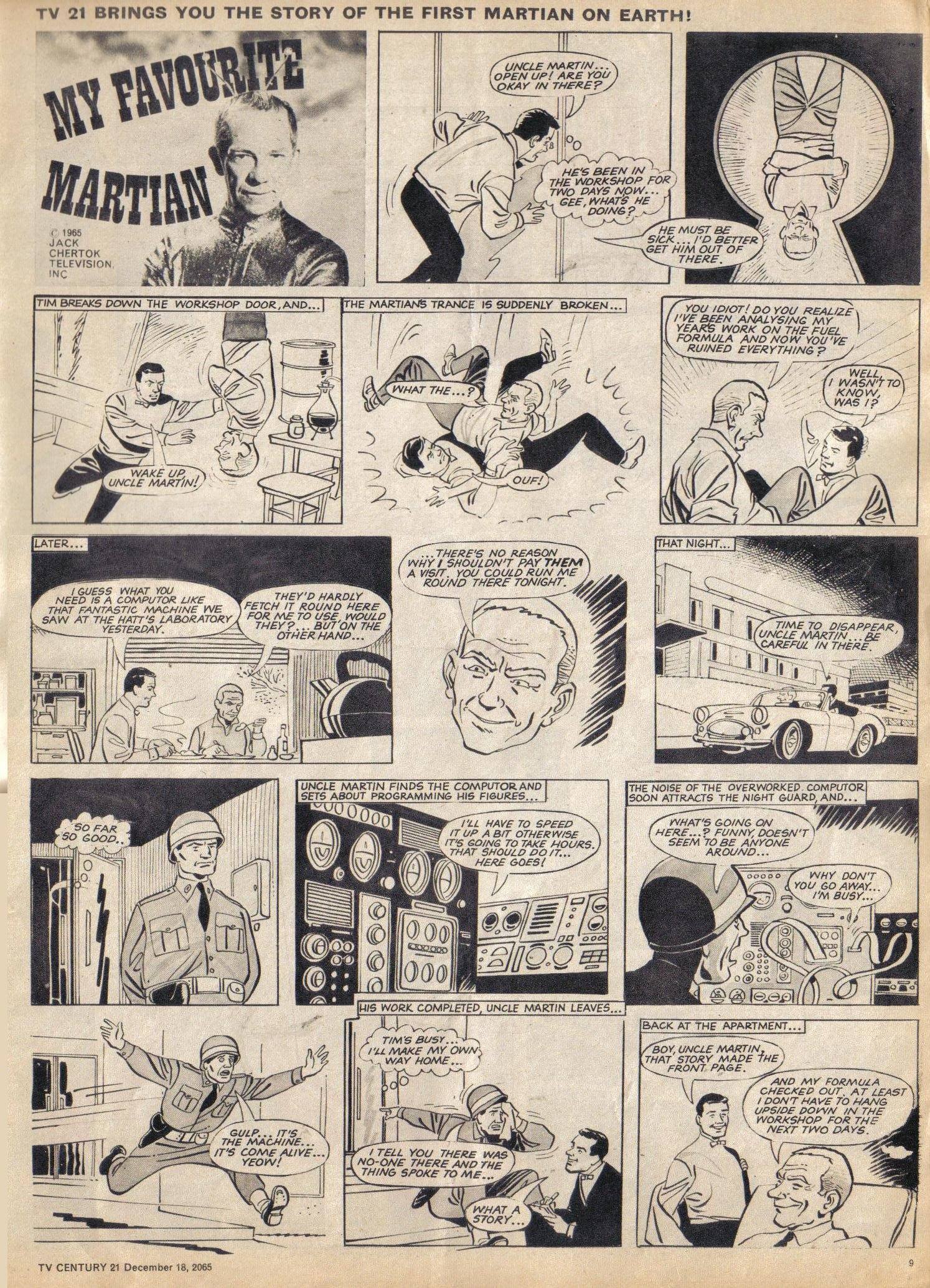 Read online TV Century 21 (TV 21) comic -  Issue #48 - 9