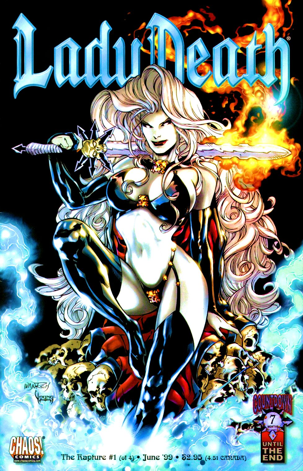 Lady Death: The Rapture issue 1 - Page 1