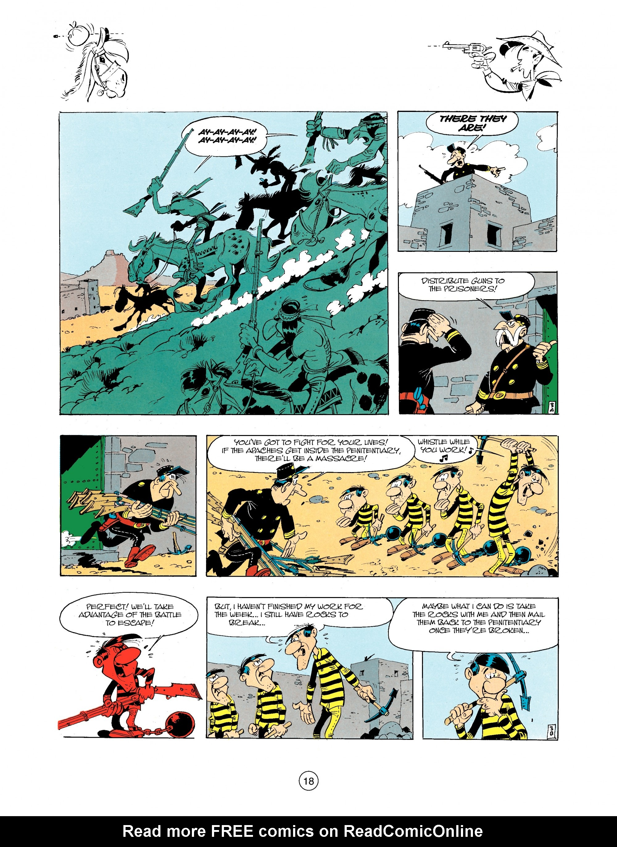 Read online A Lucky Luke Adventure comic -  Issue #34 - 18