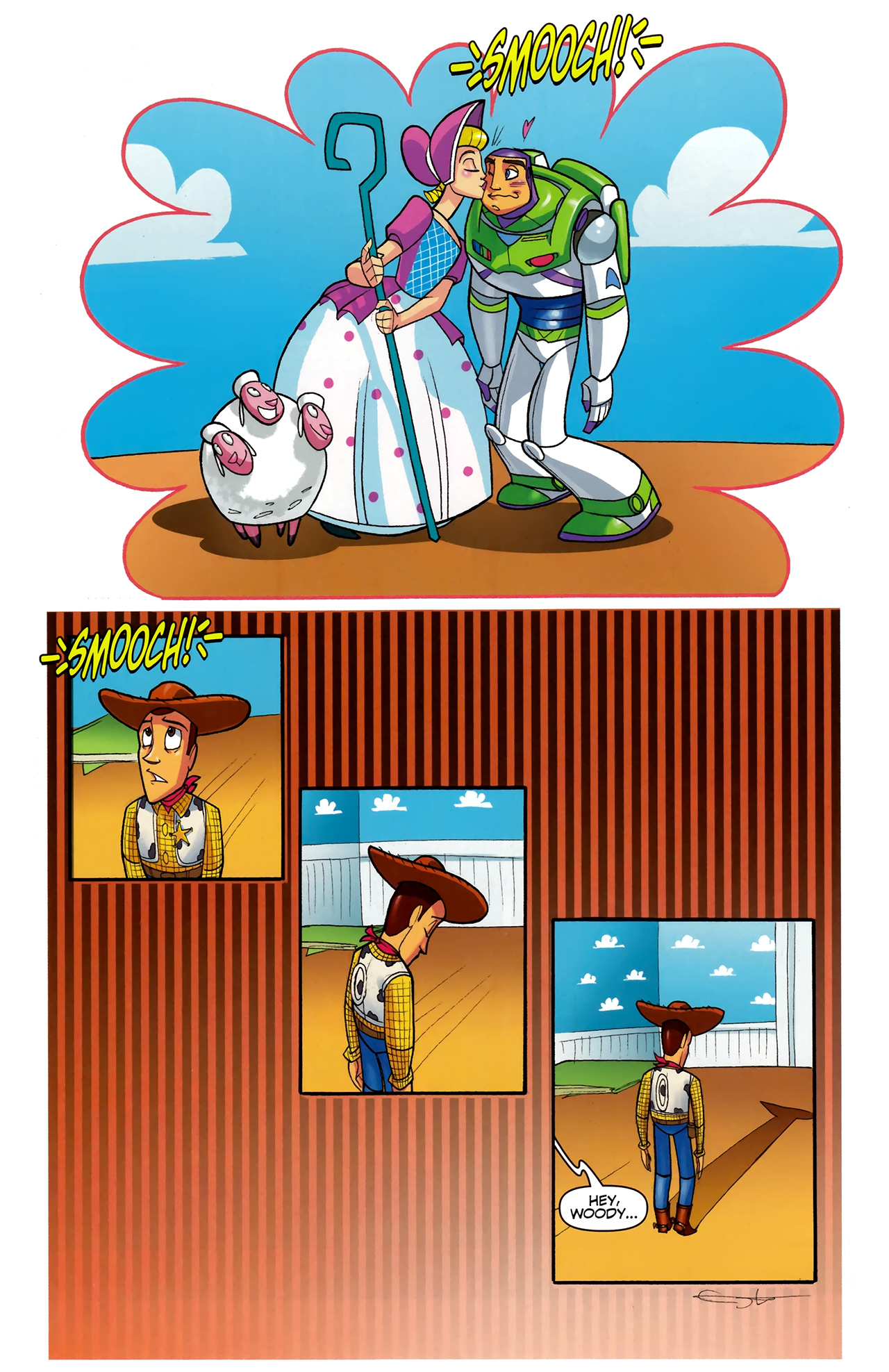 Read online Toy Story (2009) comic -  Issue #5 - 21