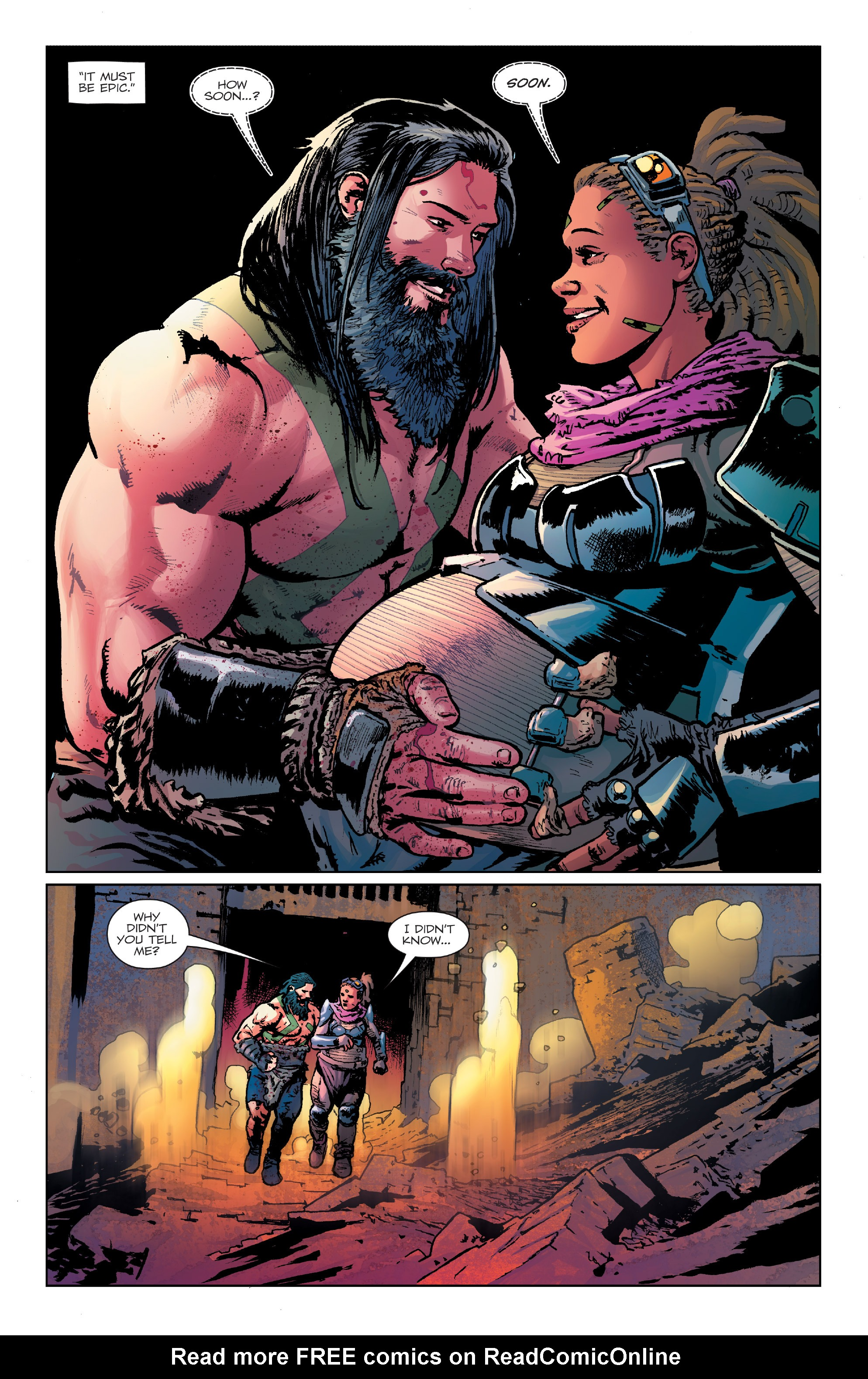 Read online Birthright (2014) comic -  Issue #24 - 4
