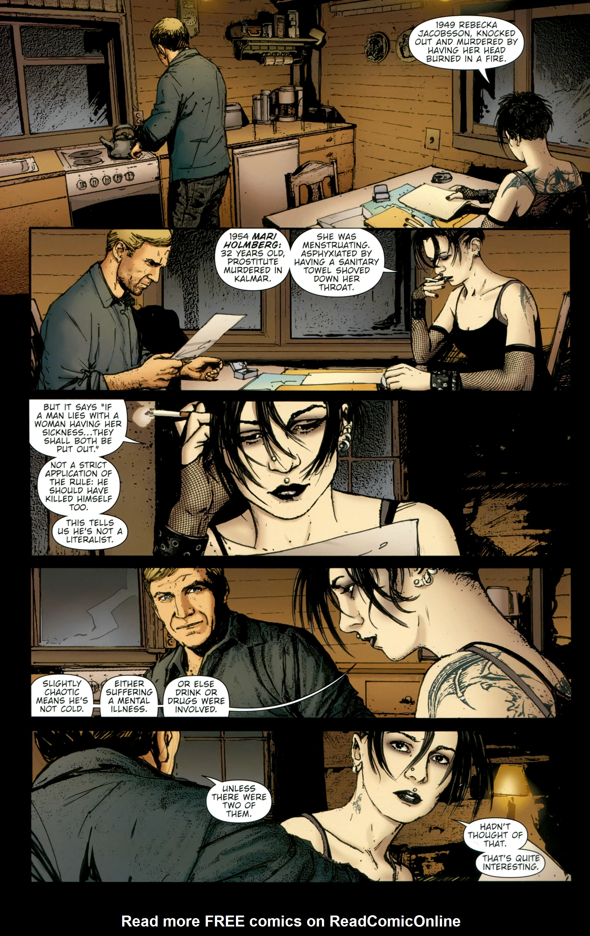 Read online The Girl With the Dragon Tattoo comic -  Issue # TPB 2 - 64