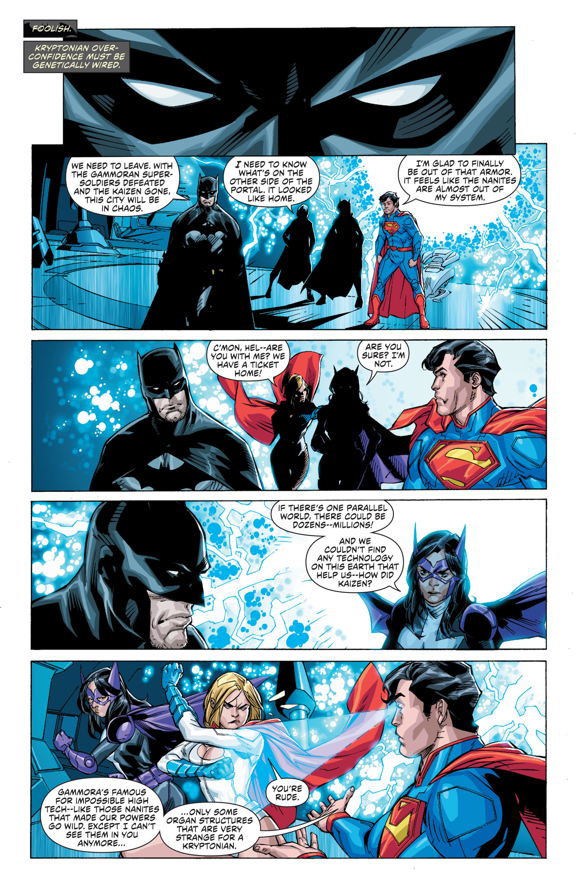 Read online Worlds' Finest comic -  Issue #21 - 8