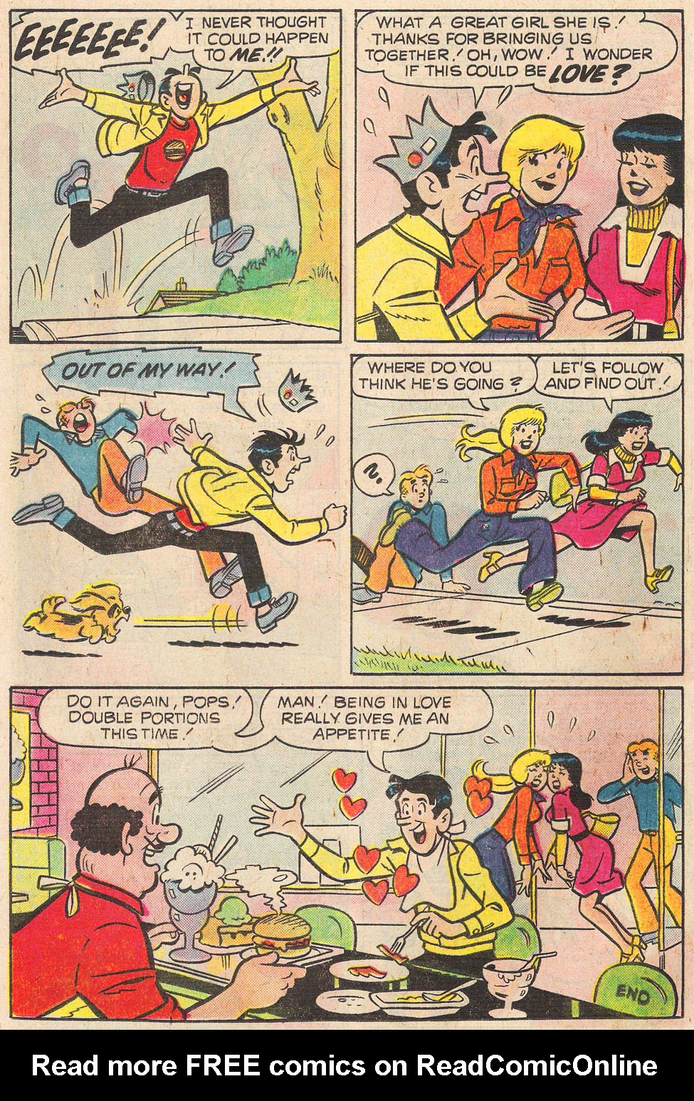 Read online Archie's Girls Betty and Veronica comic -  Issue #248 - 8