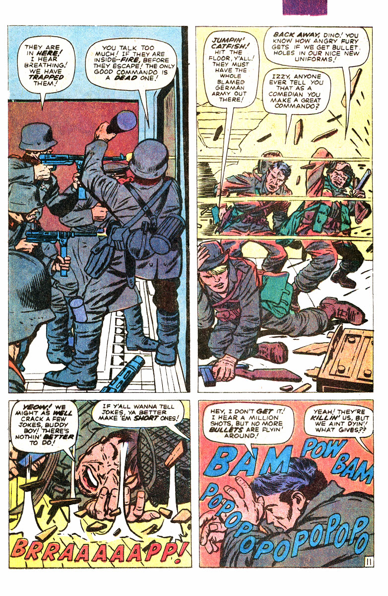 Read online Sgt. Fury comic -  Issue #167 - 17