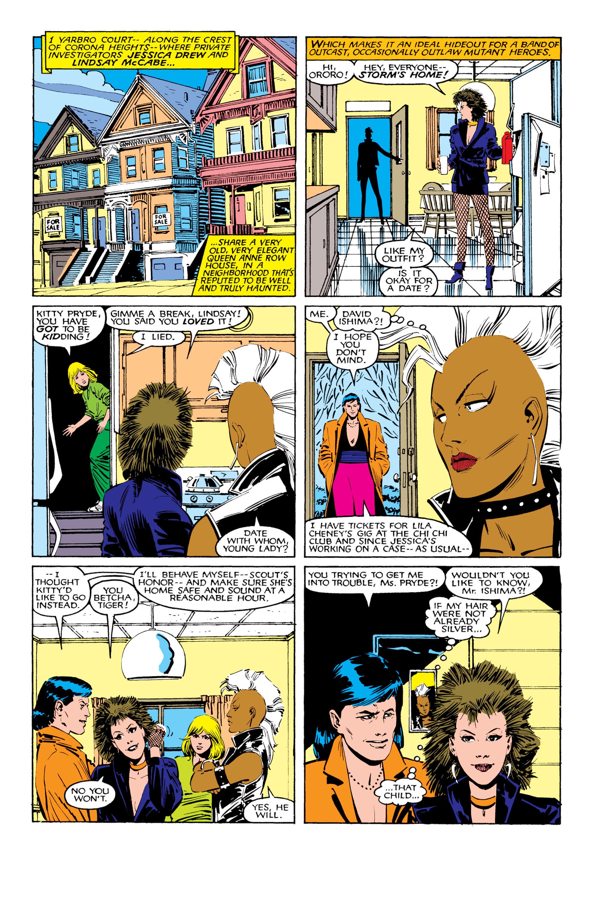 Read online Uncanny X-Men (1963) comic -  Issue #206 - 6