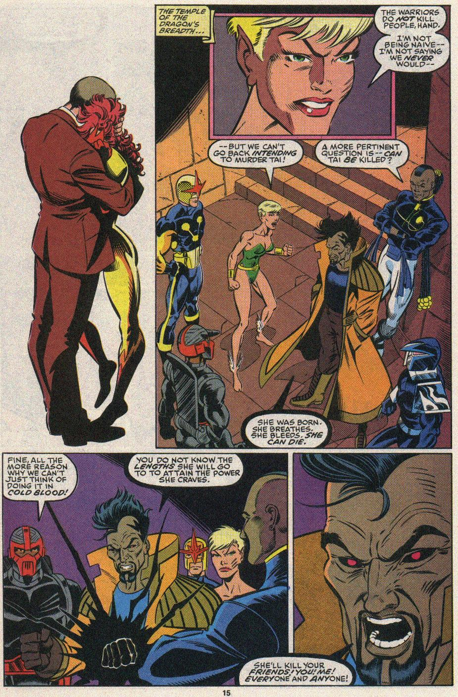 The New Warriors Issue #25 #29 - English 12