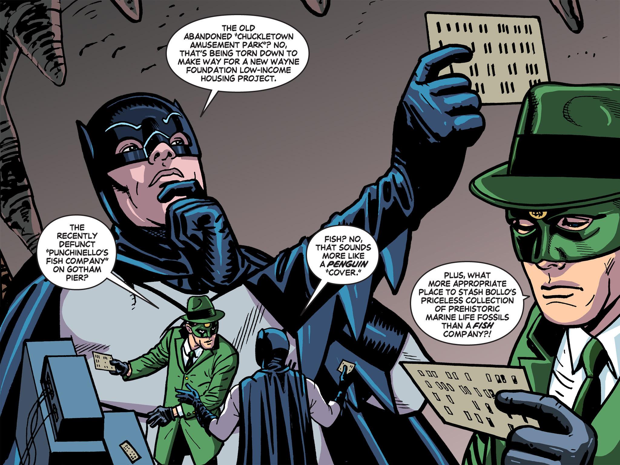 Read online Batman '66 Meets the Green Hornet [II] comic -  Issue #5 - 68