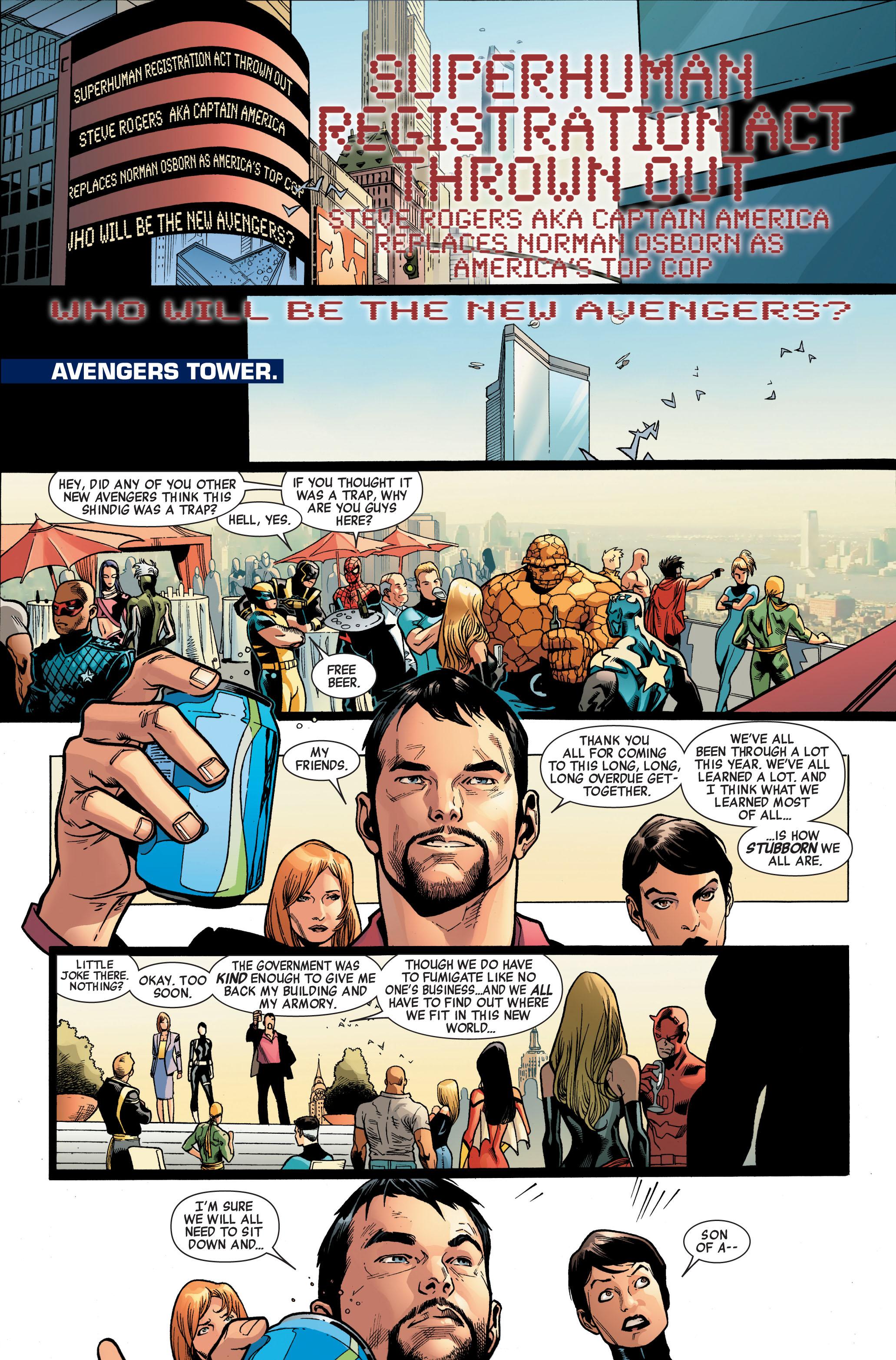 Read online Siege (2010) comic -  Issue #4 - 23