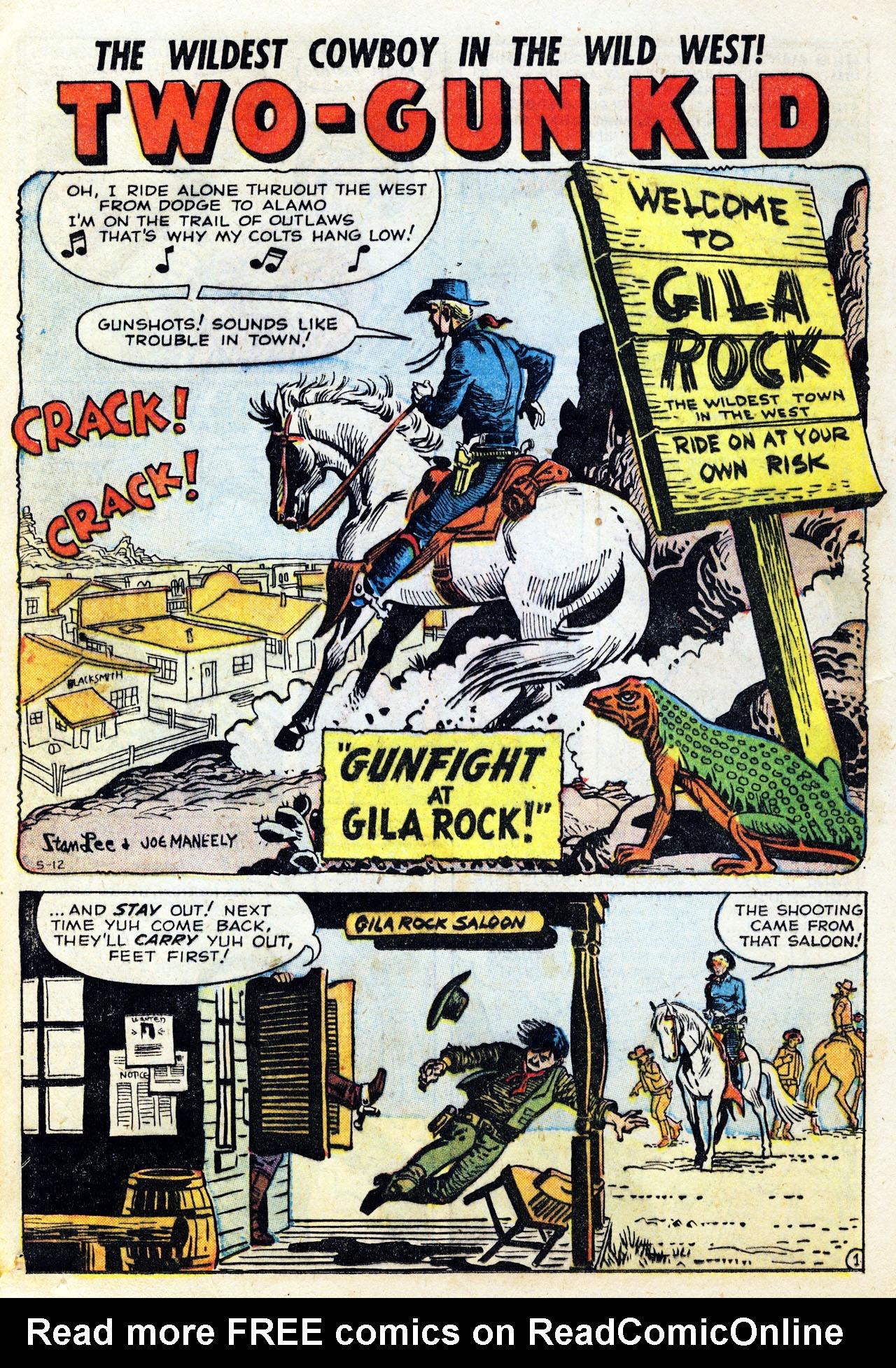 Read online Two-Gun Kid comic -  Issue #43 - 12