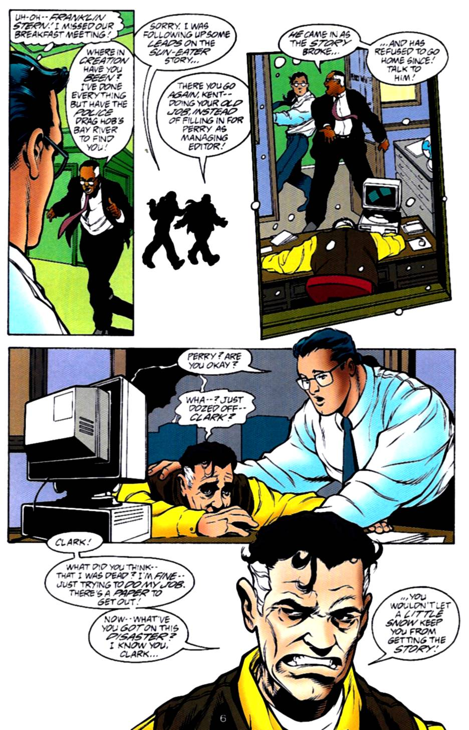 Read online Adventures of Superman (1987) comic -  Issue #540 - 7