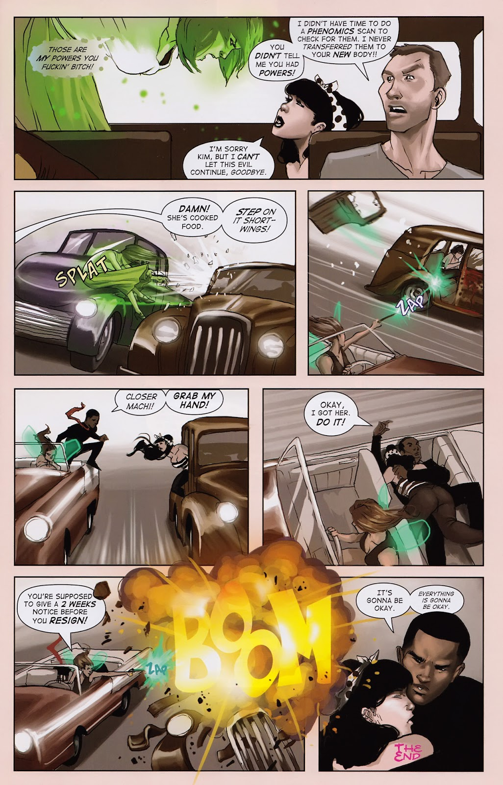 Read online Vescell comic -  Issue #2 - 13