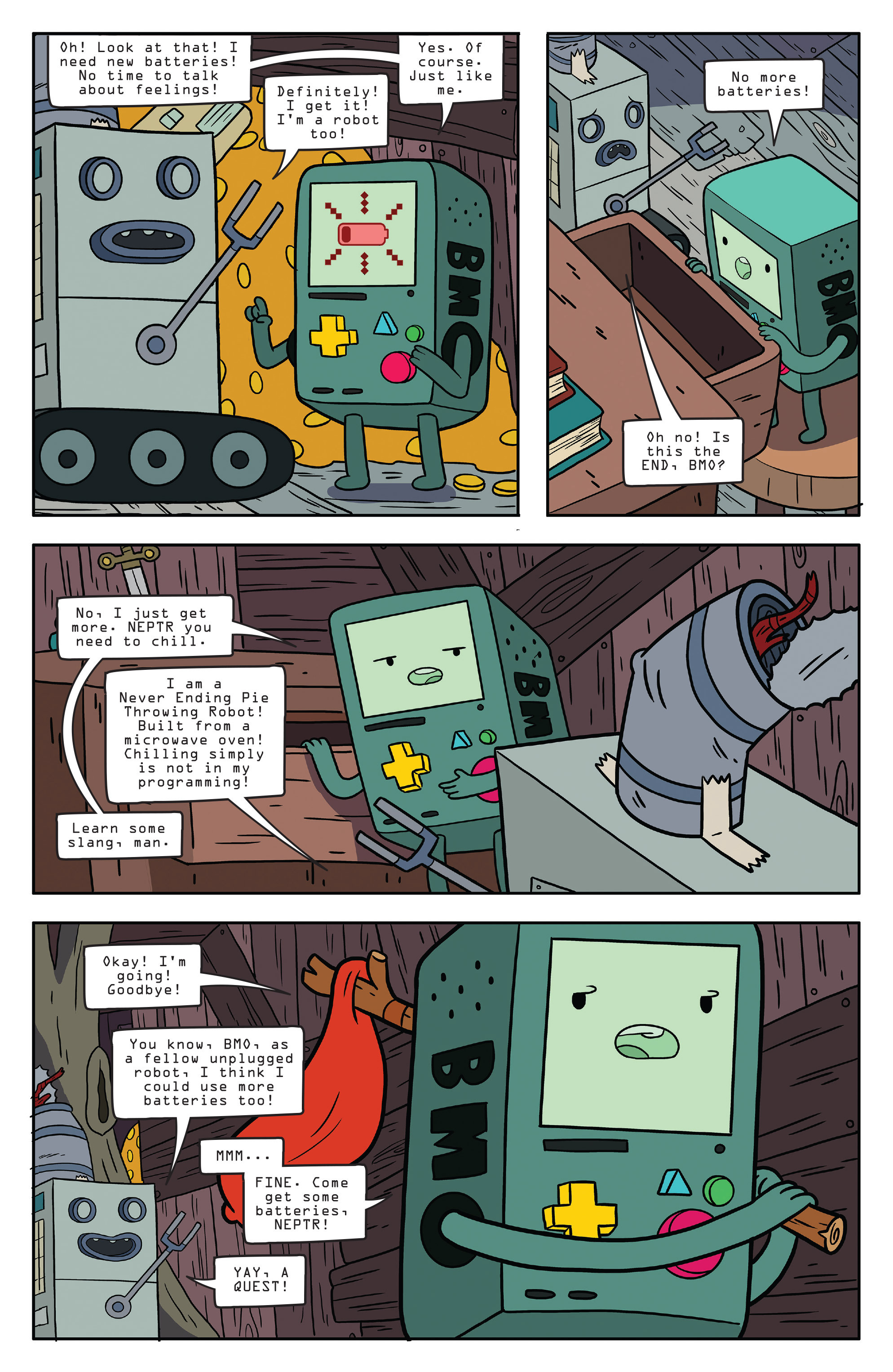 Read online Adventure Time comic -  Issue #56 - 7