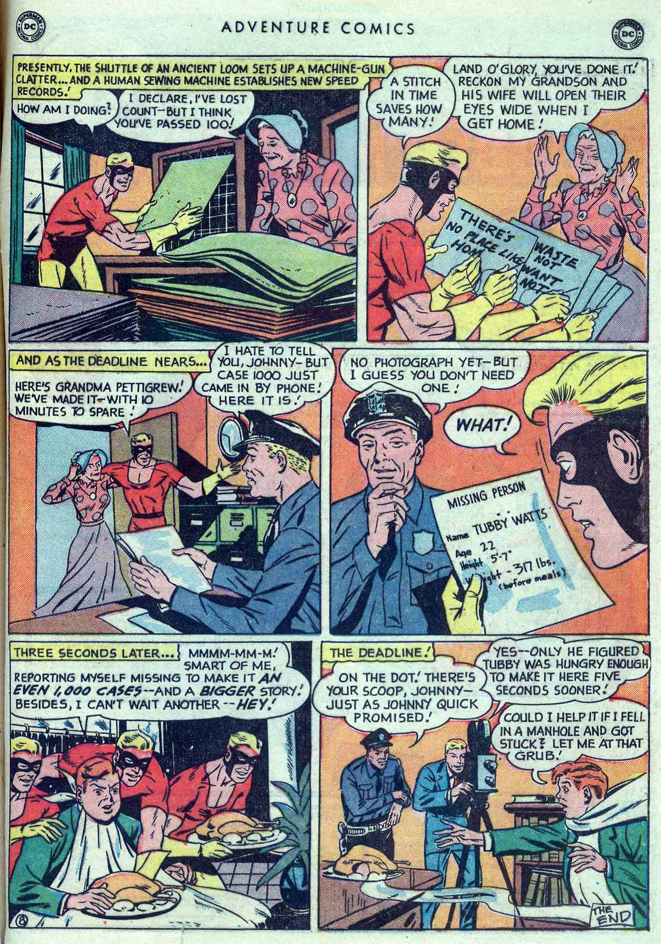 Read online Adventure Comics (1938) comic -  Issue #149 - 49