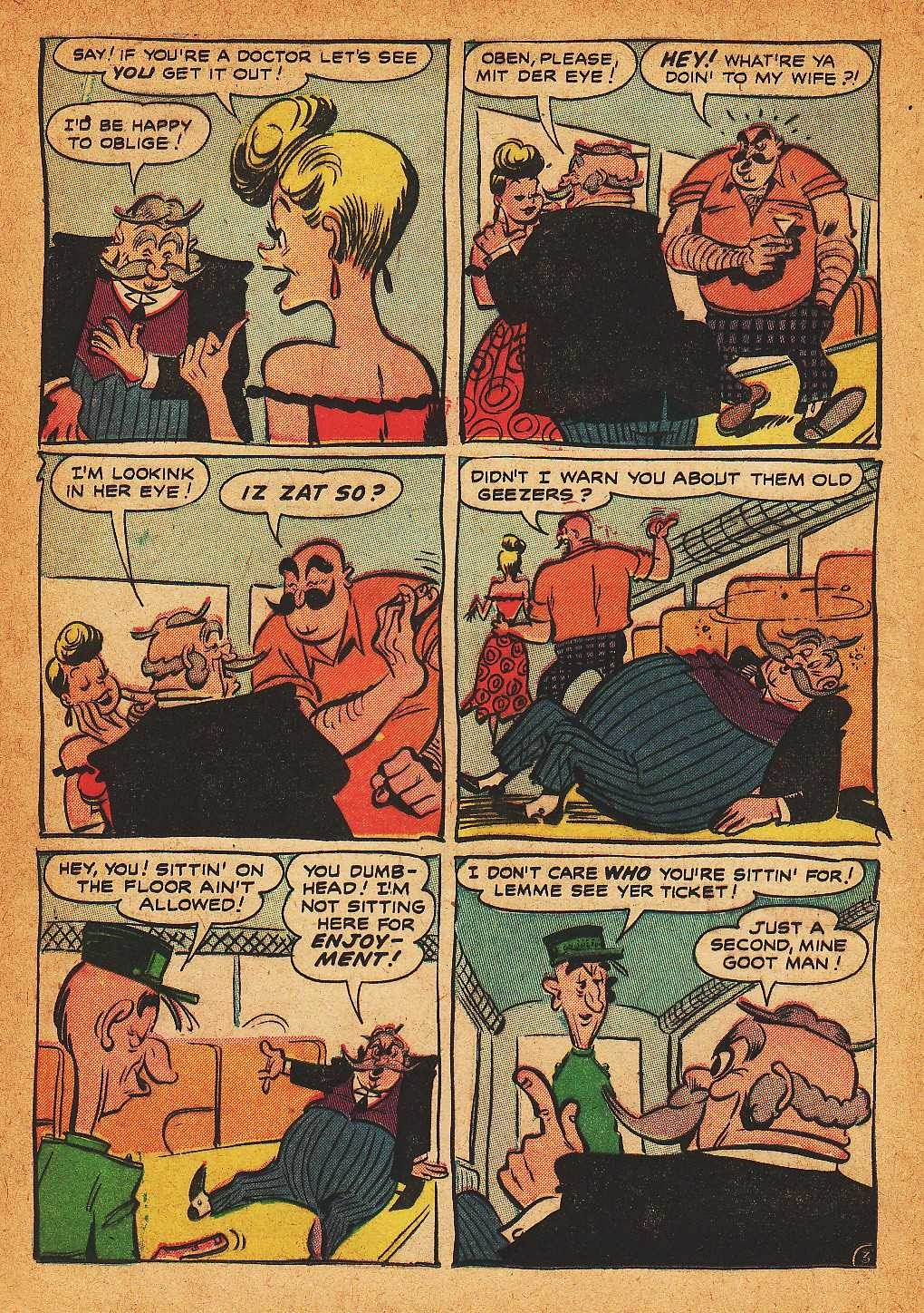 Read online Nellie The Nurse (1945) comic -  Issue #32 - 12