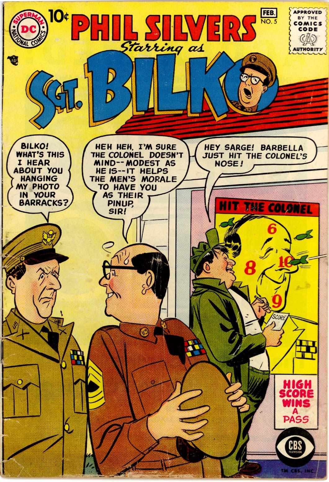 Sergeant Bilko issue 5 - Page 1