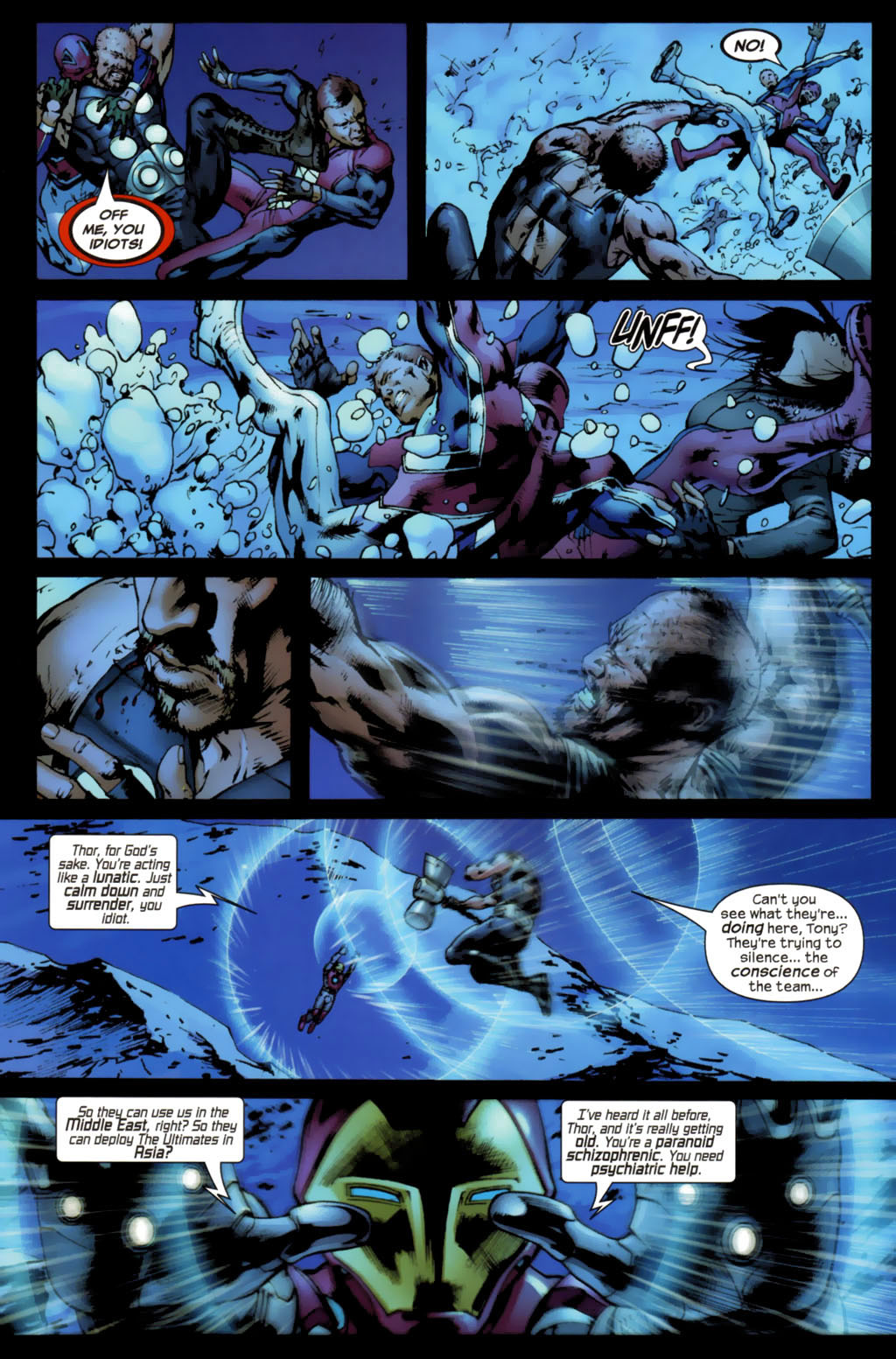 Read online Ultimates 2 comic -  Issue #5 - 7