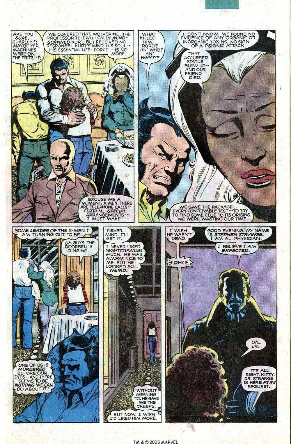 Read online Uncanny X-Men (1963) comic -  Issue # _Annual 4 - 9