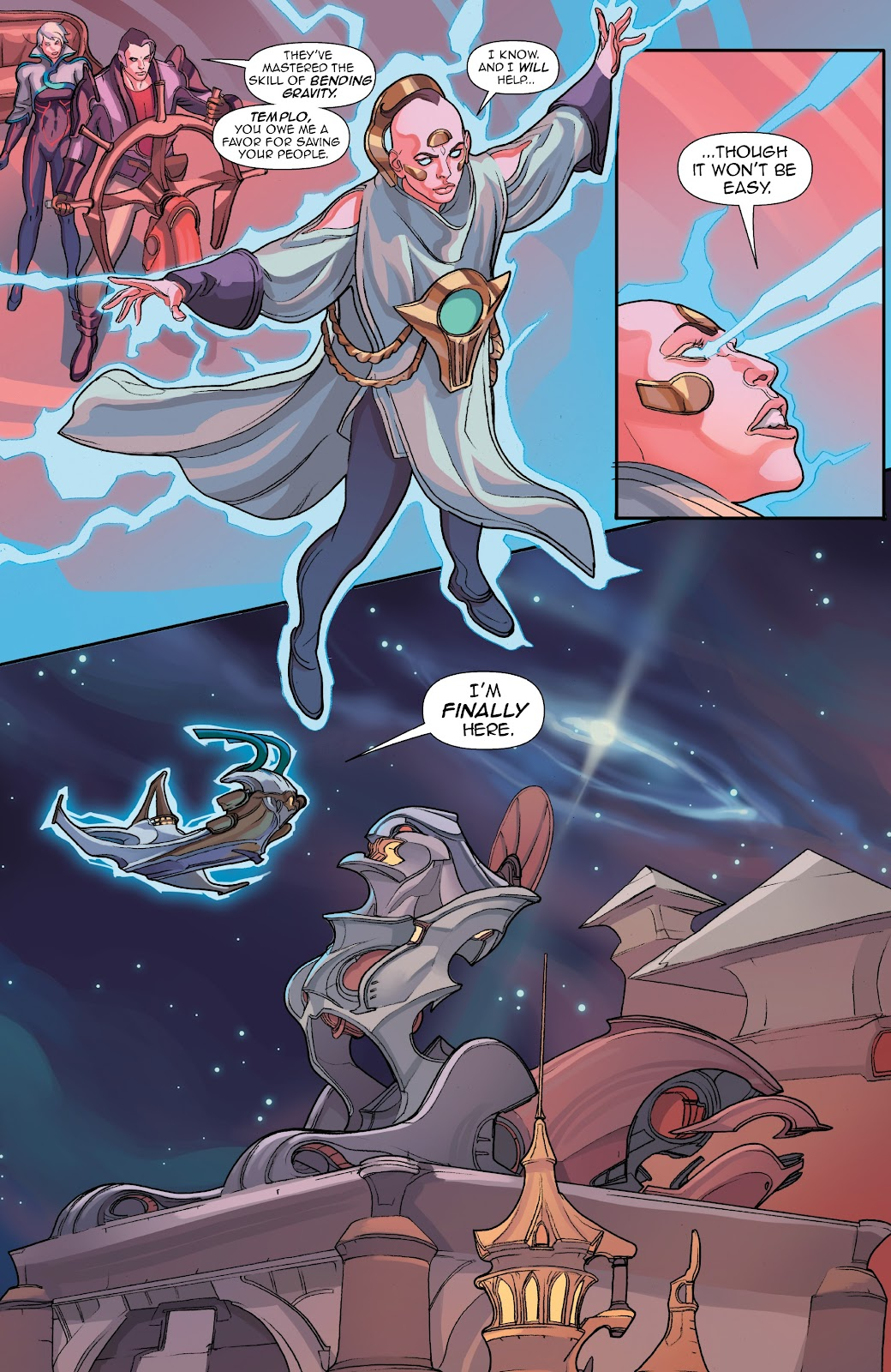 Read online Lightstep comic -  Issue #5 - 6