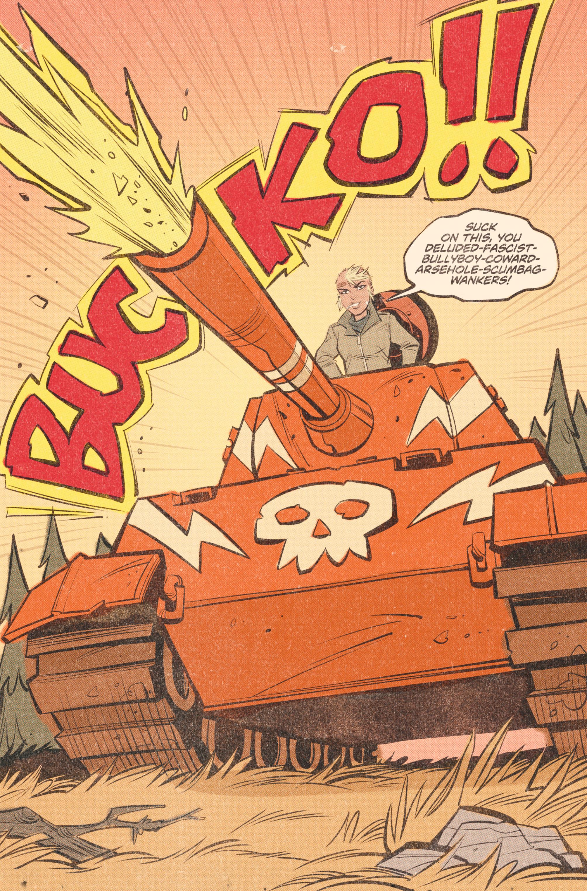 Read online Tank Girl: World War Tank Girl comic -  Issue #2 - 18