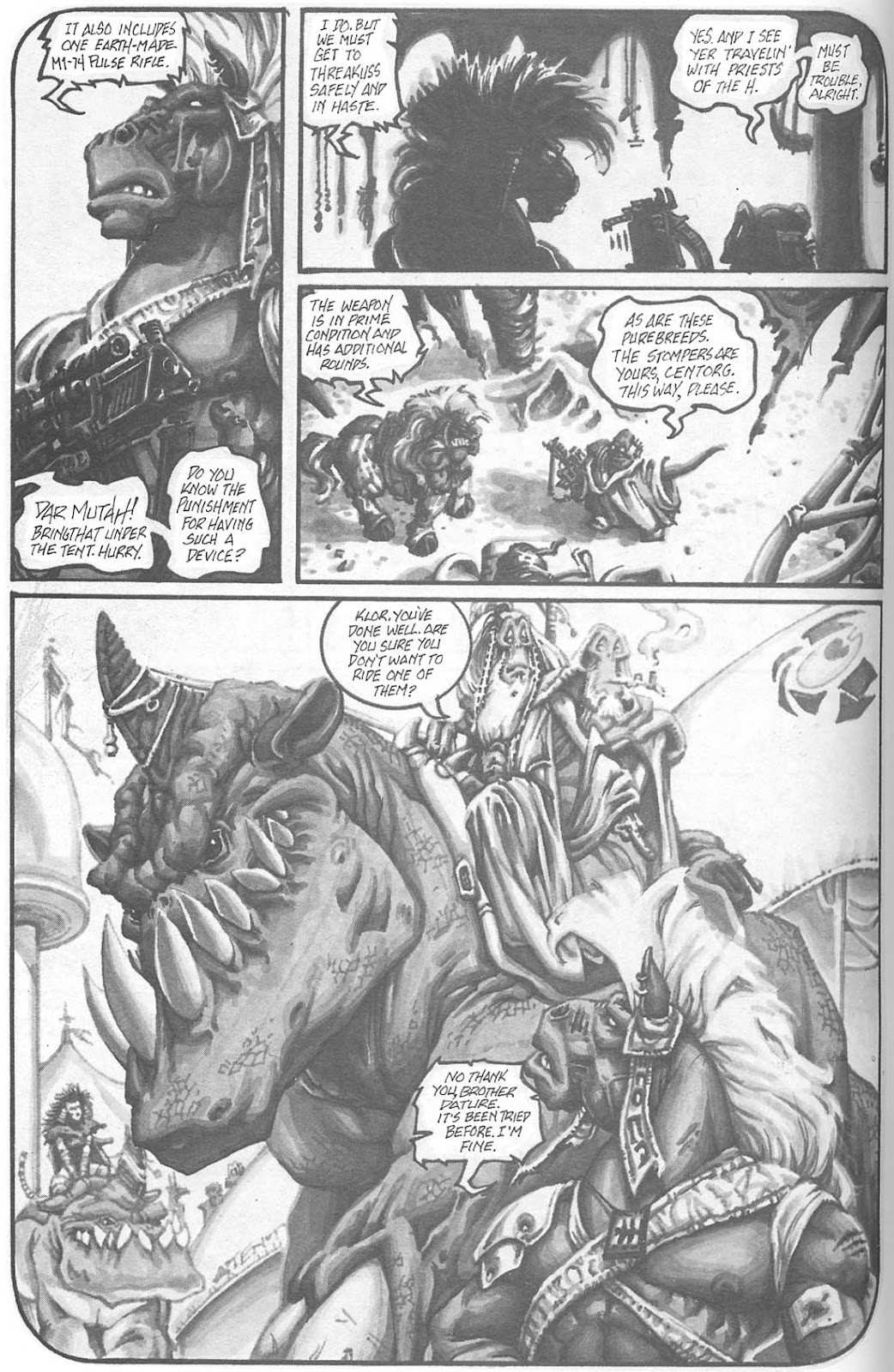 Read online Animal Mystic comic -  Issue #4 - 17